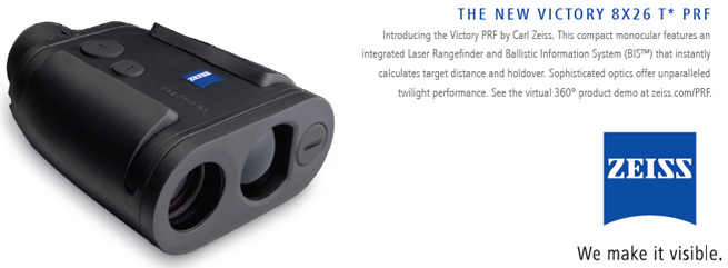 Zeiss' New Victory Laser Rangefinders - The Optics Talk Forums