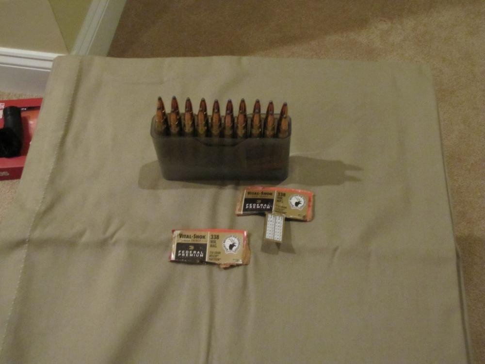 338 Win Mag, AR15 carrier, 308 Mngd Recoil ,300 WM - The