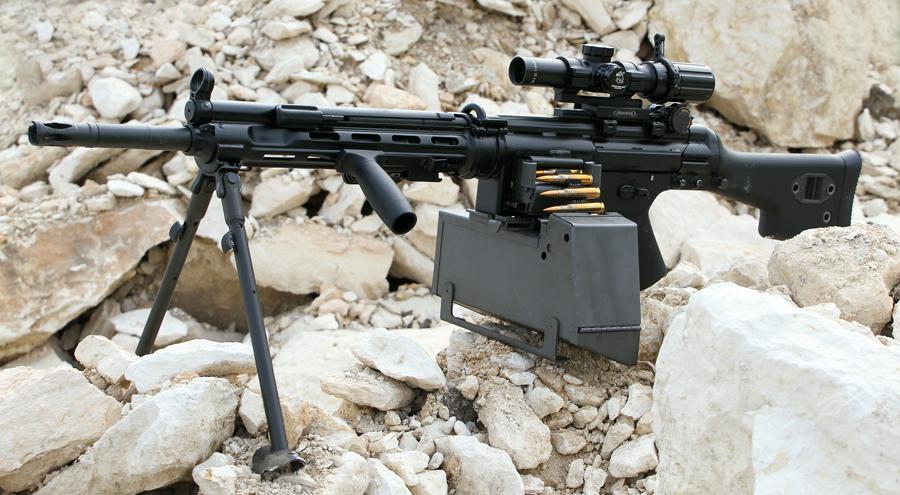 Heckler und Koch 7,62mm HK 11 / HK 21 and 5,56mm HK 13 ...