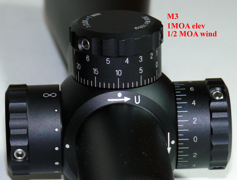 Leupold M1 M2 M3 Knobs W Pics The Optics Talk Forums