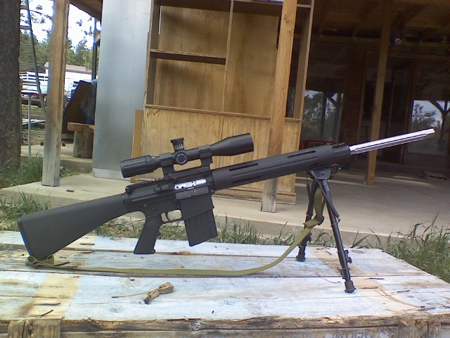 Dpms Lr 308. I just bought a lr-308 and put